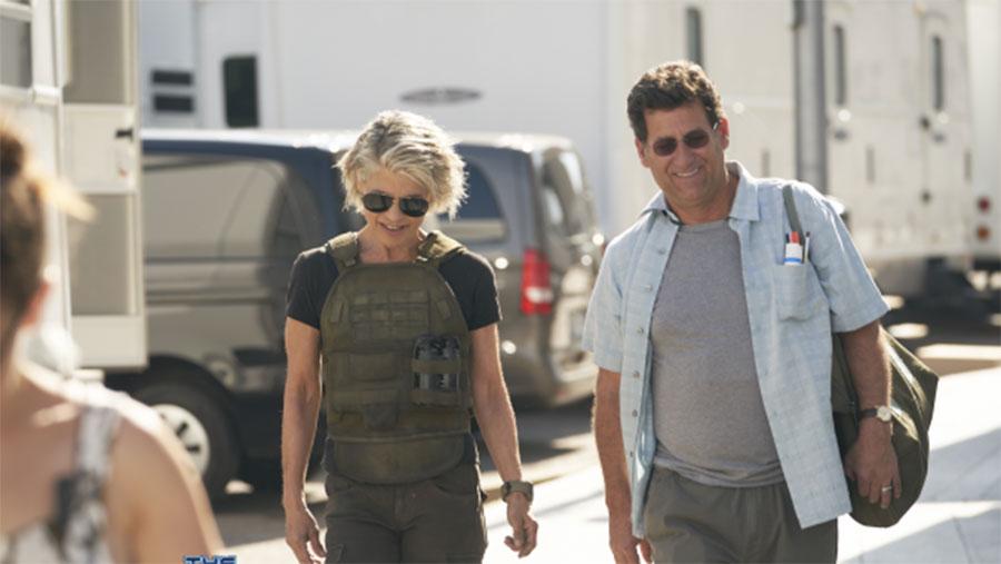 First look at Linda Hamilton in Terminator 6