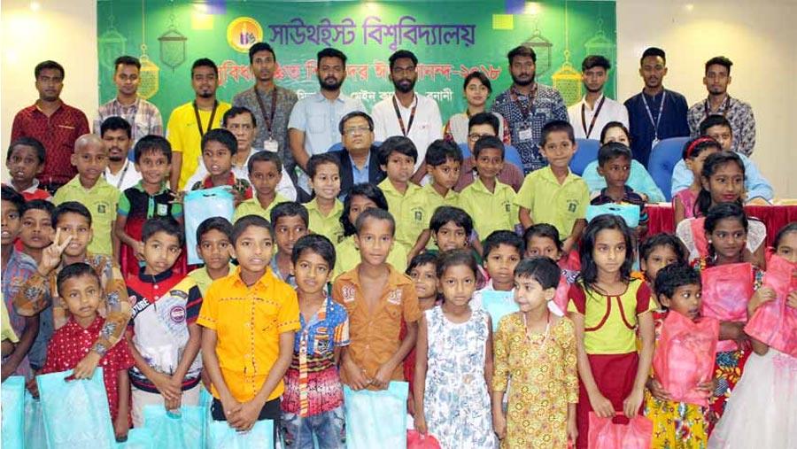 SEU shares Eid joy with orphans