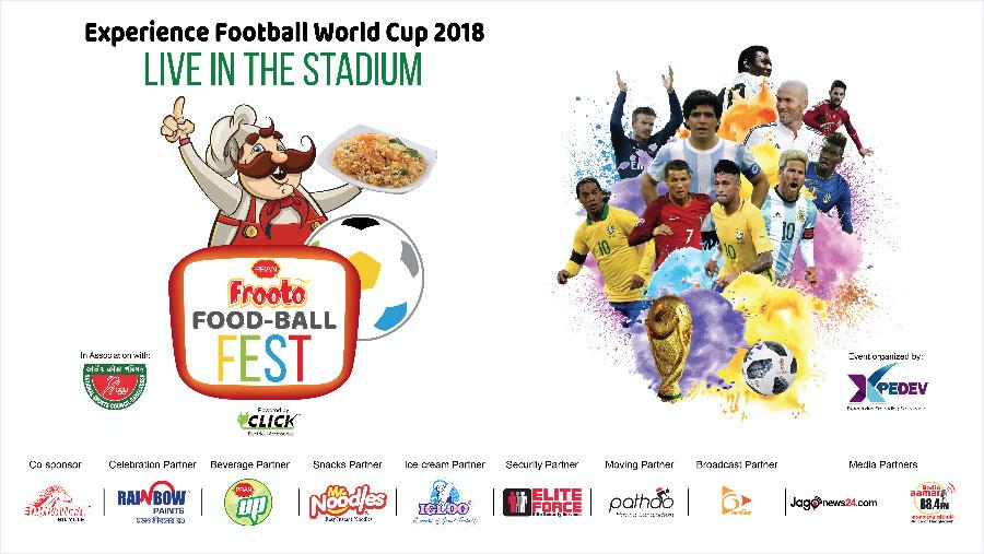 PRAN Frooto installs giant screen at Mirpur indoor stadium