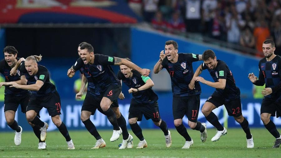 Croatia beat Russia, qualifies for World Cup semi-finals