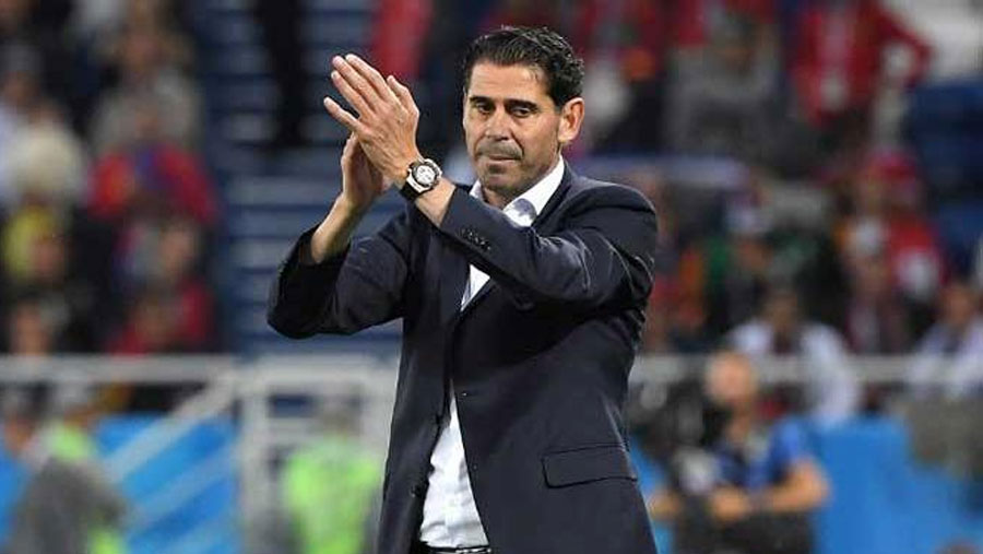 Fernando Hierro resigns as Spain manager