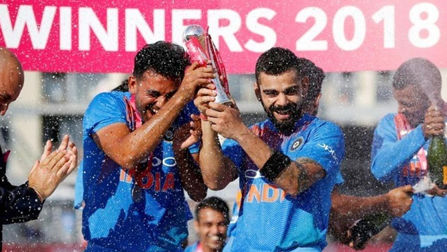 Rohit ton guides India to T20 series win