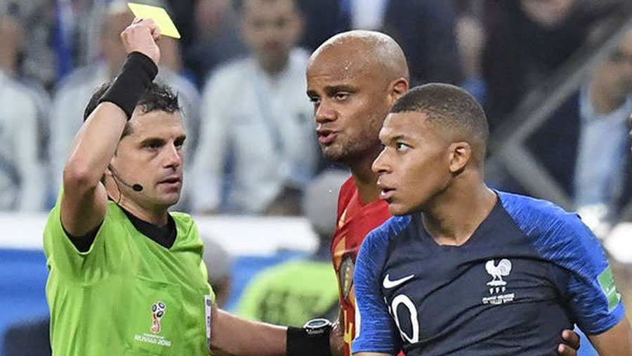 Is Mbappe suspended for the final?