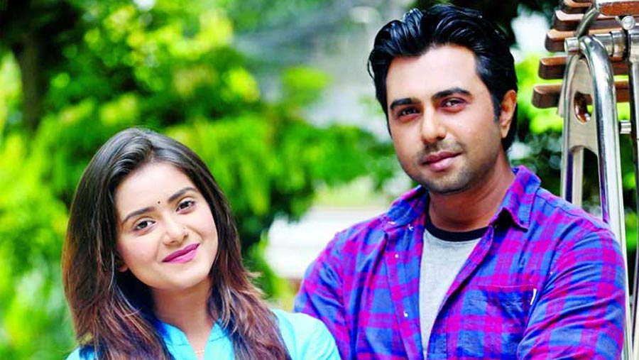 Tisha and Apurba to star in special play