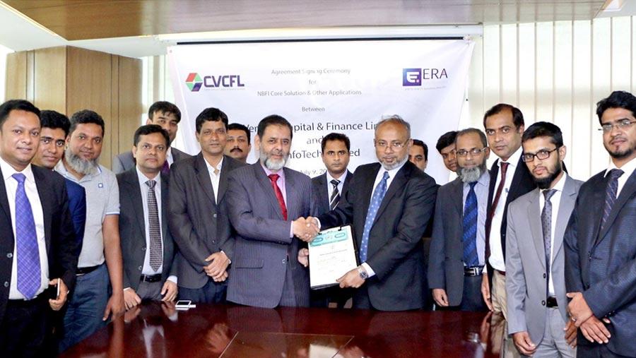 ERA InfoTech and CVCFL sign a deal