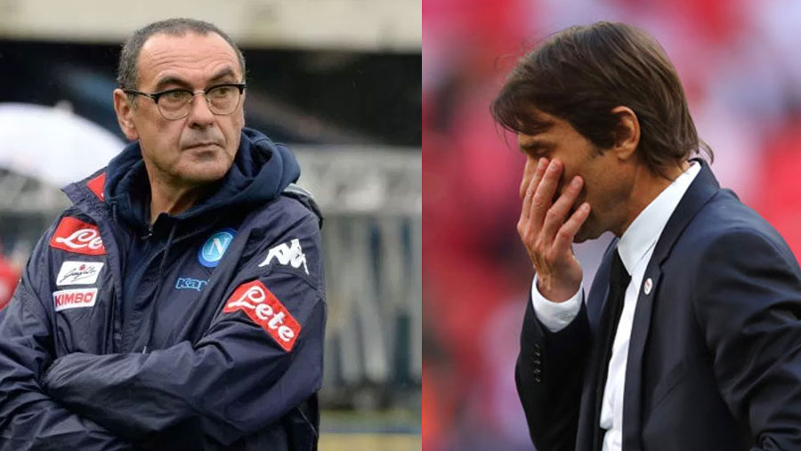 Sarri replaces Conte as Chelsea manager