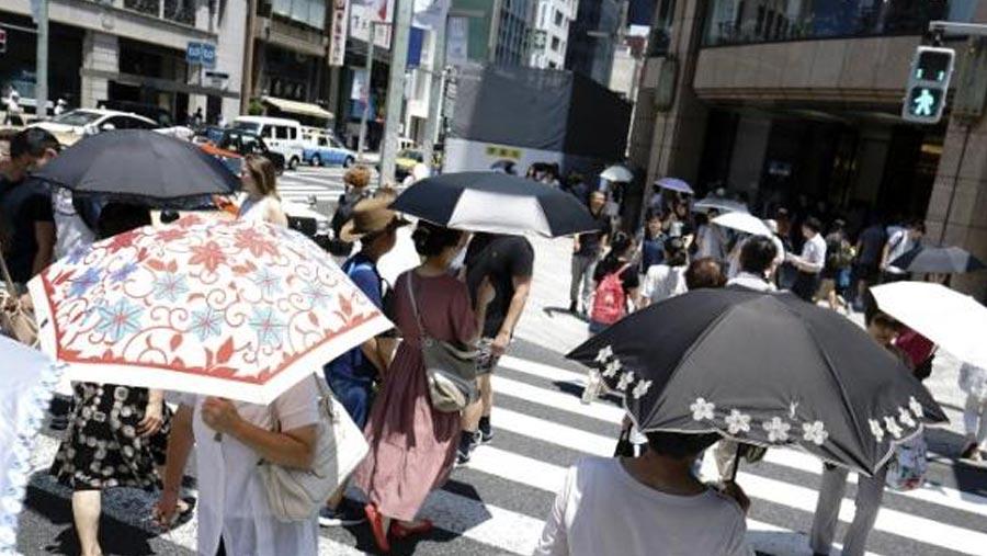 Japan declares heatwave a natural disaster