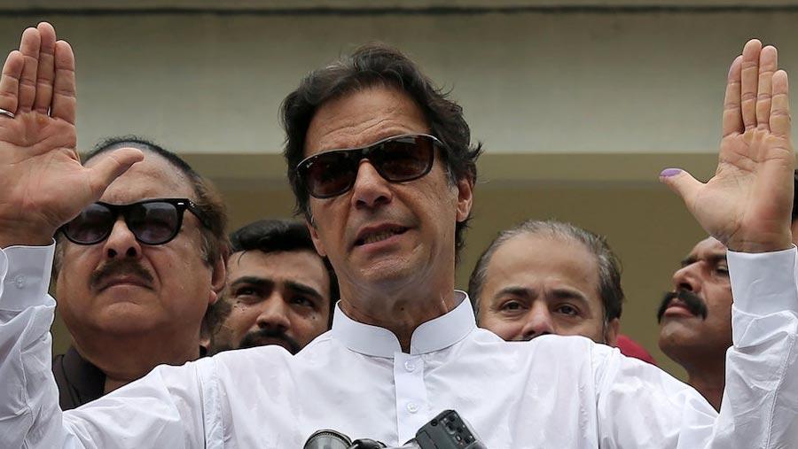 Imran Khan wins vote, will need coalition