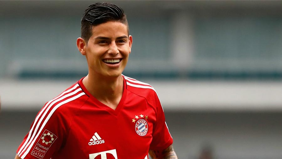 Rodriguez is happy at Bayern Munich