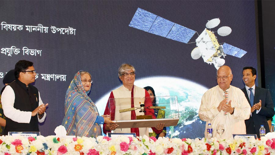 Bangabandhu Satellite-1 to play pivotal role in development: PM