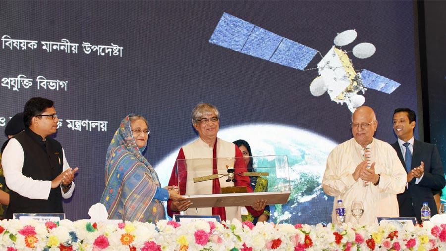 Bangabandhu Satellite-1 to play pivotal role in development: PM