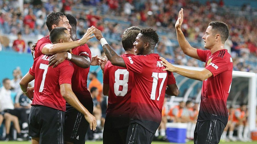 Man Utd wrap up US tour with win over Real