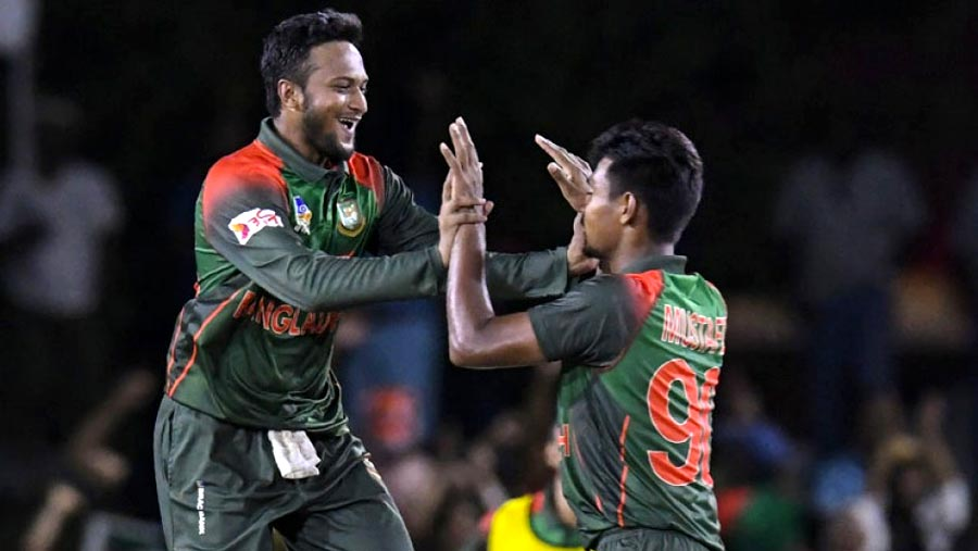 Tigers beat West Indies in 2nd T20I