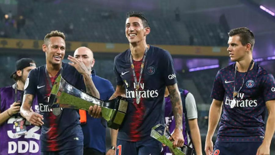 PSG thrash Monaco 4-0 for French Super Cup