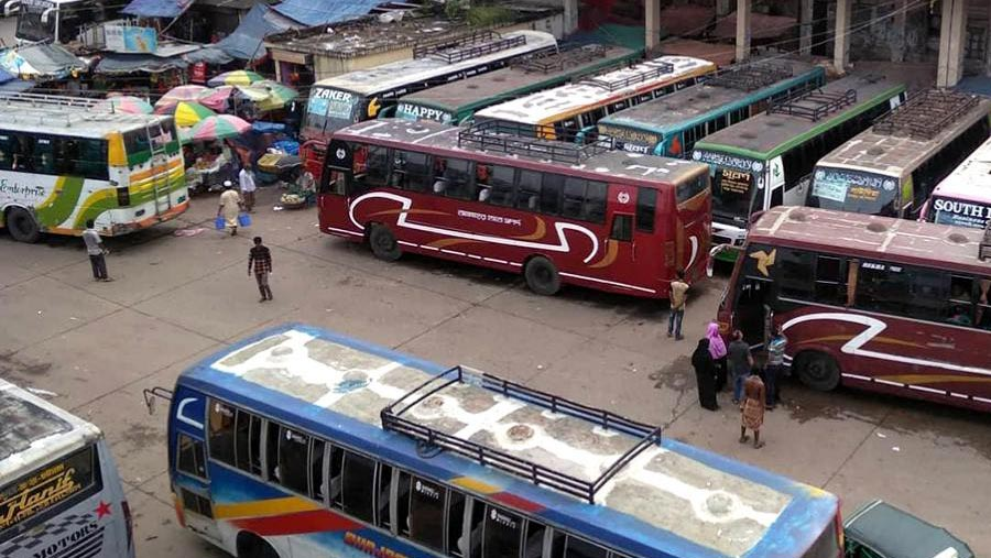 Advance bus ticket sale suspended