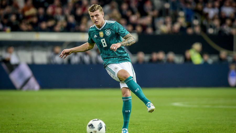 Kroos named German footballer of the year