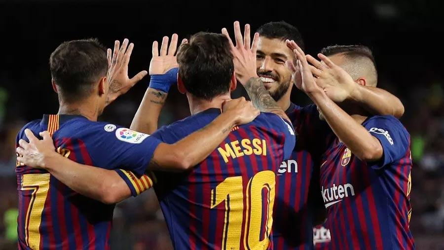 Barcelona beat Deportivo Alaves 3-0