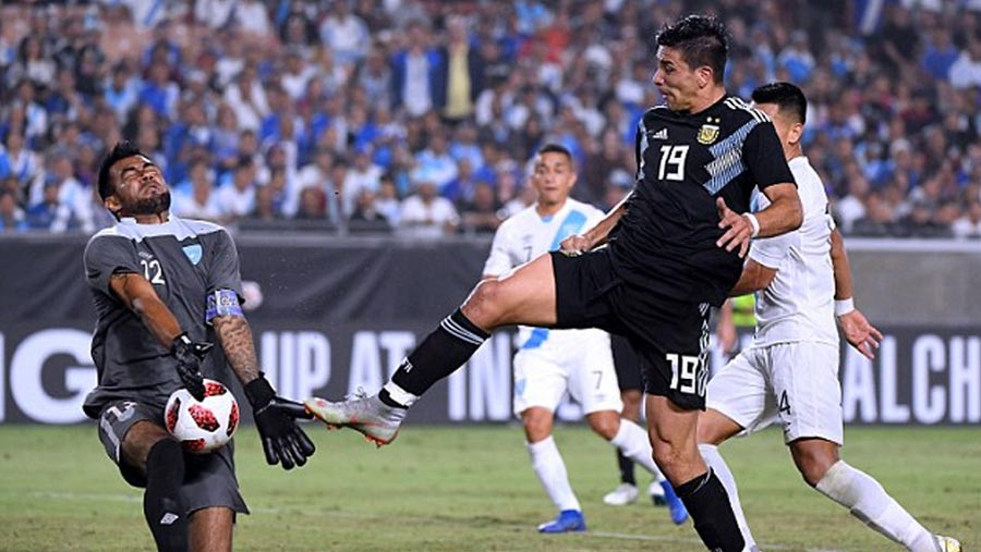Argentina beat Guatemala 3-0 in friendly