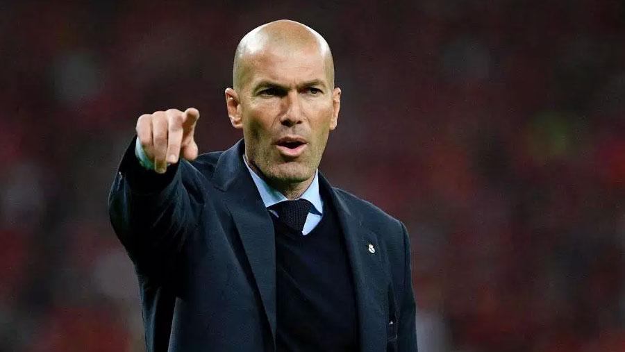 Zidane hints at coaching return