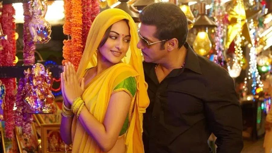 Salman, Sonakshi announce Dabangg 3