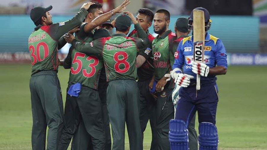 Bangladesh beat Sri Lanka in Asia Cup opener