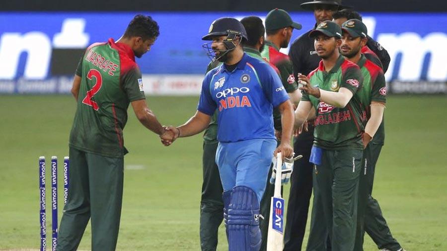 India beat Bangladesh by 7 wickets