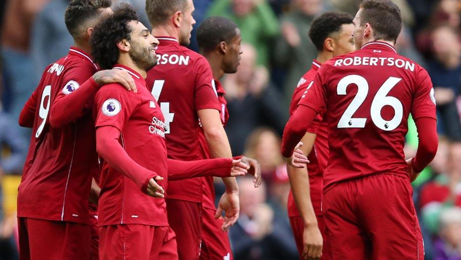 Liverpool top Premier League table