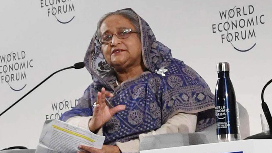 Hasina urges int'l community to ensure easy transfer of technology
