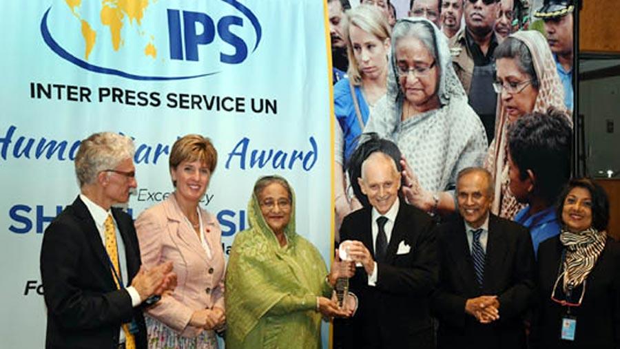 PM receives two prestigious awards
