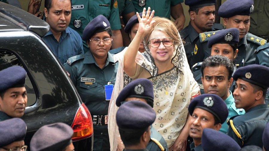 Supreme Court upholds Khaleda's bail in two cases