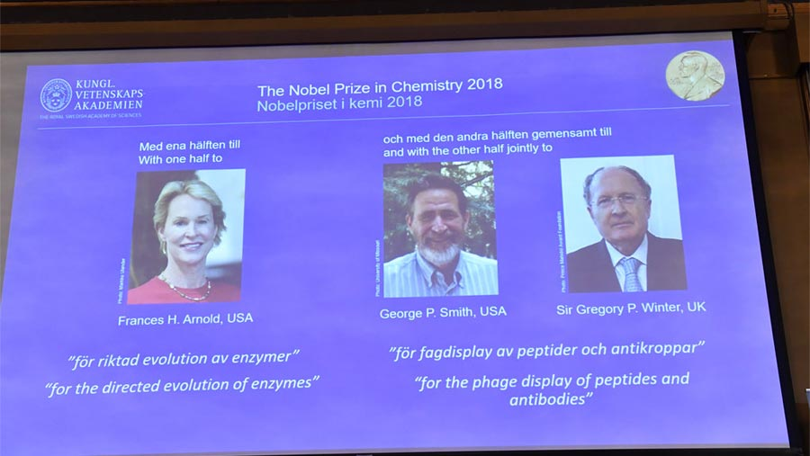 Three scientists awarded chemistry Nobel Prize