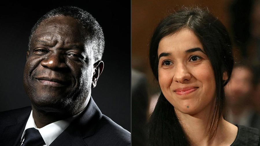 Nobel Peace Prize for anti-rape activists