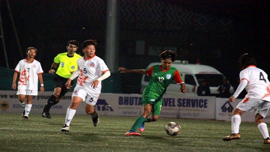Bangladesh women into SAFF U18 Championship final