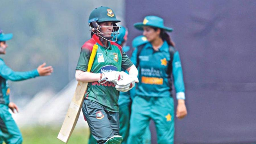 Tigresses lose in 3rd T20I against Pakistan