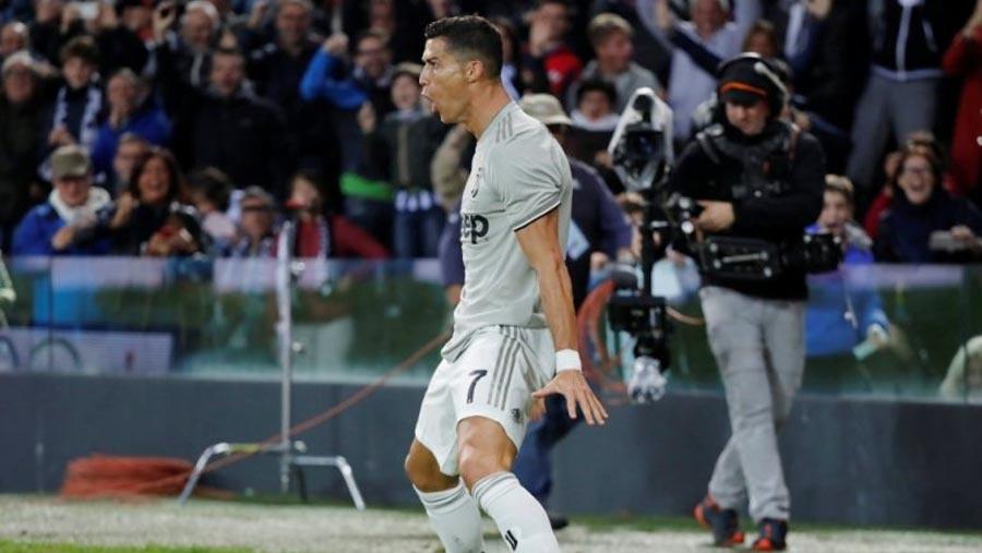 Ronaldo scores as Juventus beat Udinese