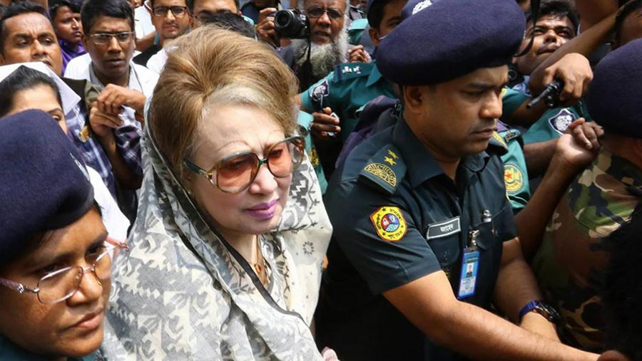 Khaleda admitted to BSMMU for treatment