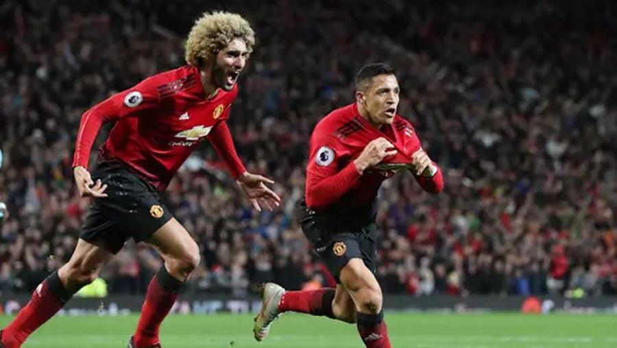 Man United 3-2 Newcastle United