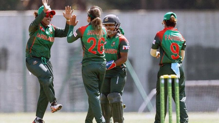 Khadija's six-for sets up big Bangladesh win