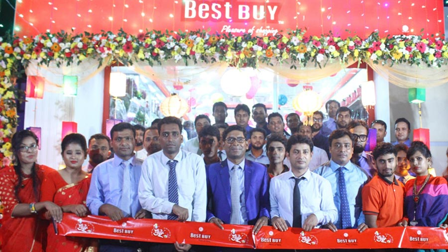 Best Buy opens outlet at capital's Khamrbari