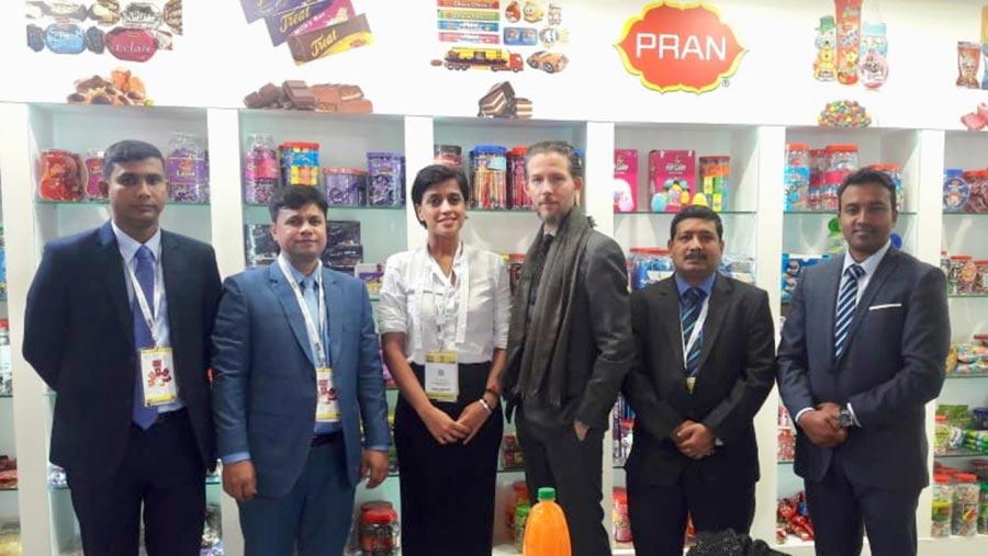 PRAN bags $5.25m orders at Paris Food Fair