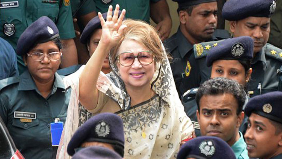 Khaleda jailed for 7-year in Zia Charitable Trust graft case