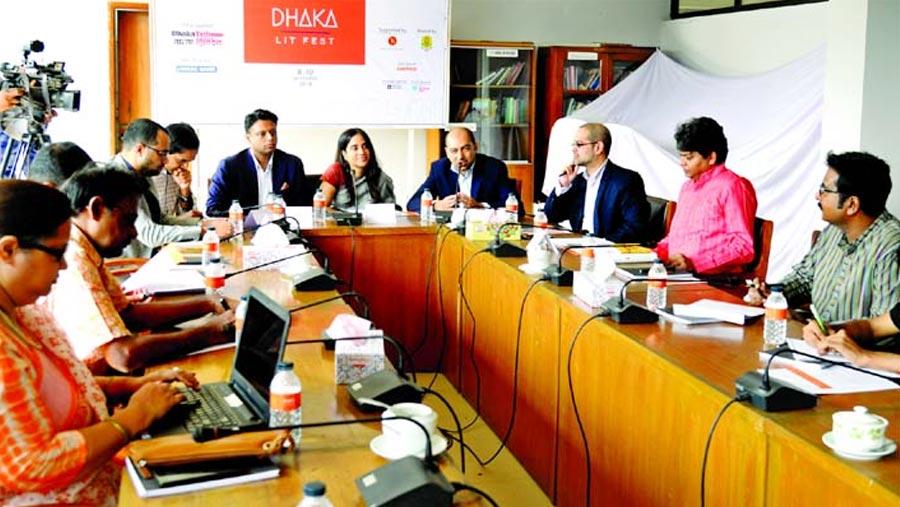 Dhaka Lit Fest 2018 begins Thursday