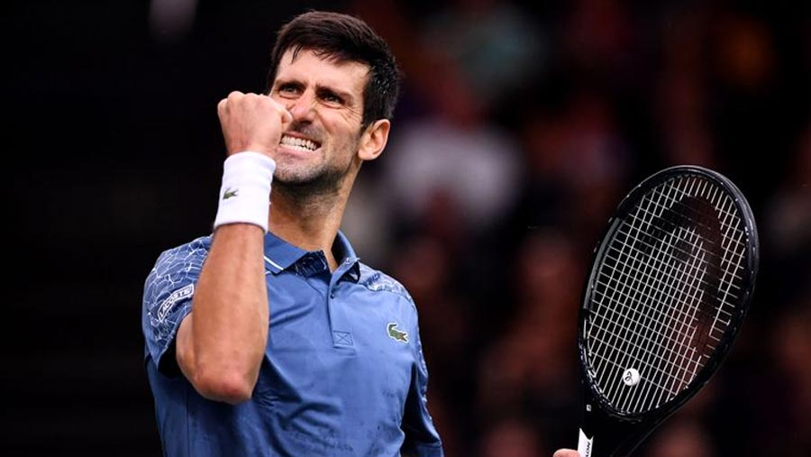 Novak Djokovic back at No. 1