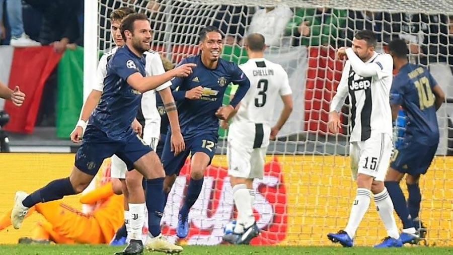 Man Utd stun Juventus with late comeback