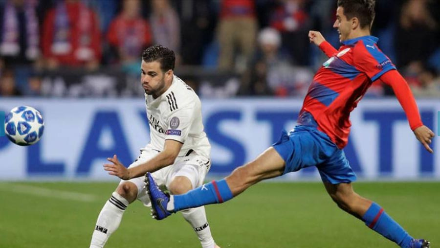 Real Madrid ease past Viktoria Plzen