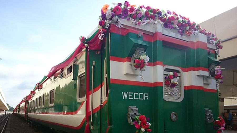 Dhaka-Panchagarh train service begins