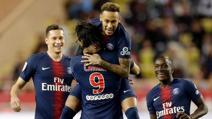 PSG rout Monaco 4-0