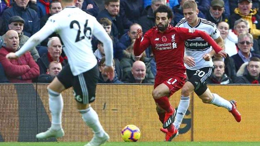 Salah, Shaqiri put Liverpool on top