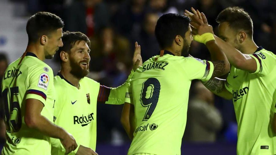 Messi hat-trick makes it 50 goals in 2018