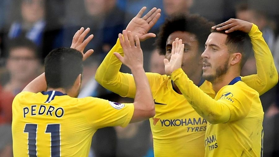 Chelsea get past Brighton thanks to Hazard magic